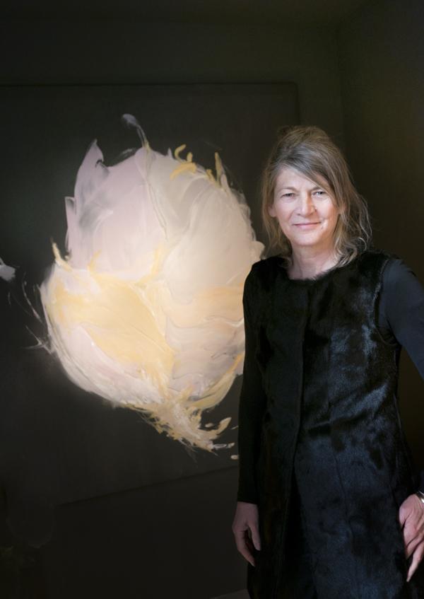 portrait birgit munsch-klein, painting, art, modern art